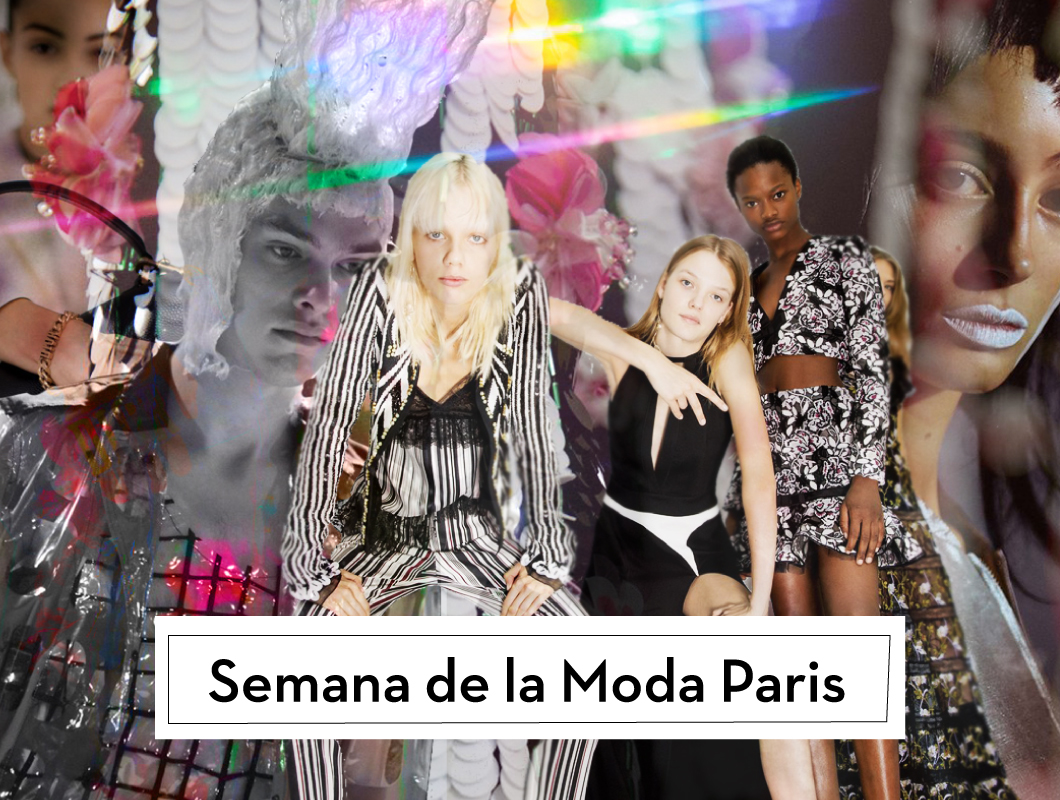 #ParisFashionWeekSS2017: Glamour urbano al por mayor