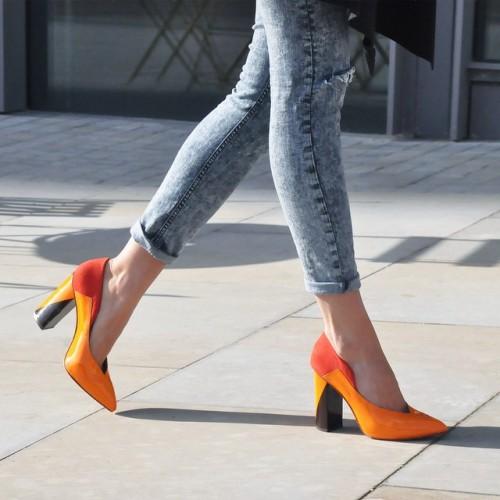 Zapatos londinenses inspirados en la arquitectura de los muebles