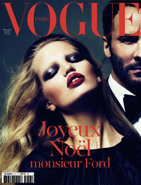 Vogue Paris + Tom Ford: Controversia y talento