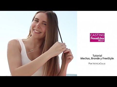 Video: Distintas maneras de aclarar tu pelo con Casting Sunkiss Jelly
