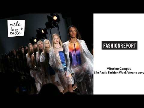 Video: Vitorino Campos – São Paulo Fashion Week Verano 2015 por VisteLaCalle