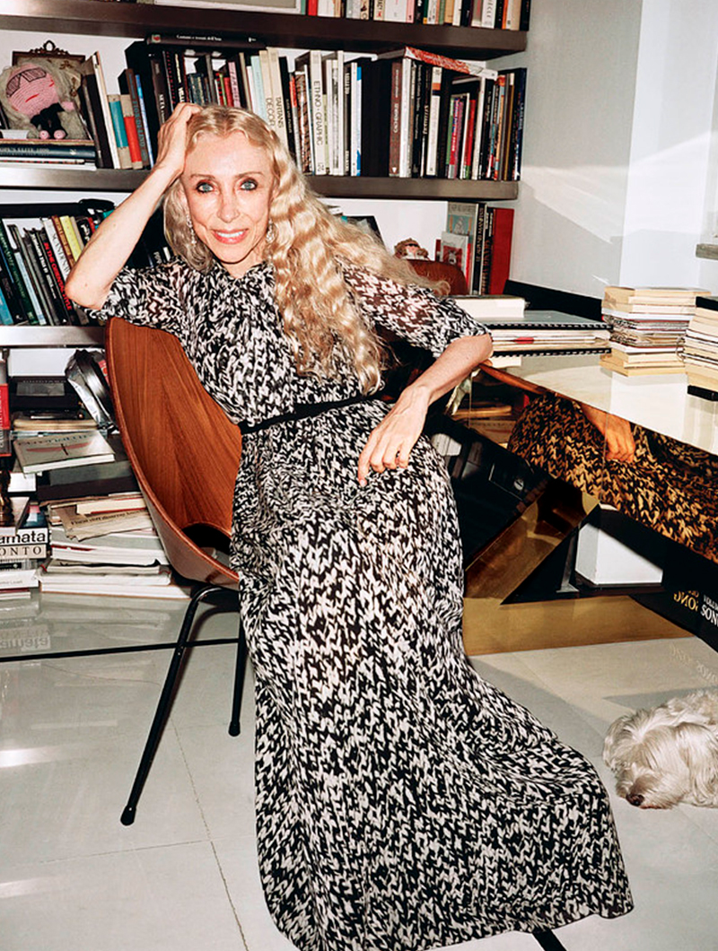 Agyness Deyn y Lara Stone en Vogue China