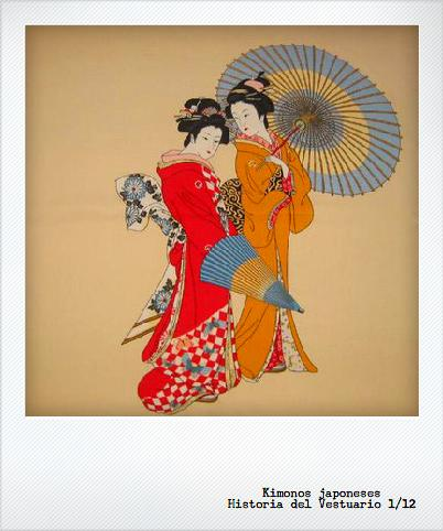 Japonismo en el vestuario