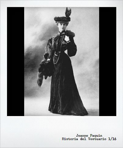 Jeanne Paquin, la primera diseñadora (con fuerza)