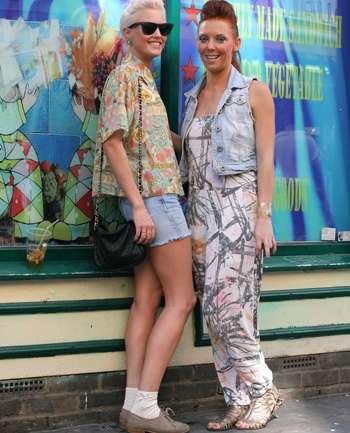 Ciara Appleford y Rebecca Stevens