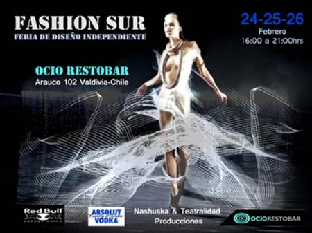 Fashion Sur en Valdivia 24-25 y 26 de febrero