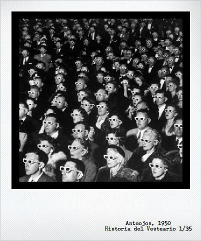 El gran accesorio-práctico de los años 50: anteojos