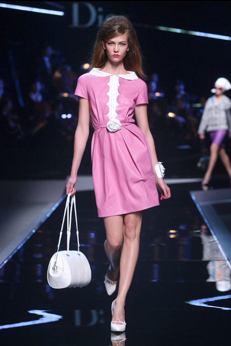 Dior Resort 2011: All the sixties ladies!