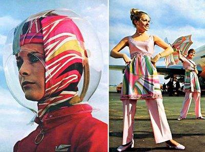 Pucci y la psicodelia en el diseño textil de principios de los 70 (Tercera parte)