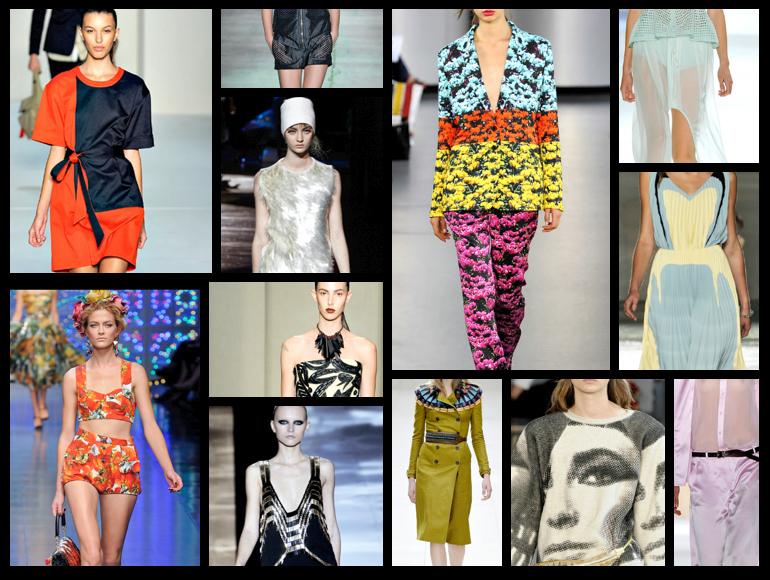 Las semanas de la moda en 12 looks