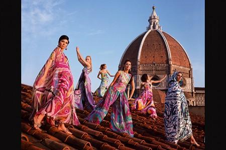 Pucci y la psicodelia en el diseño textil de principios de los 70 (Segunda parte)