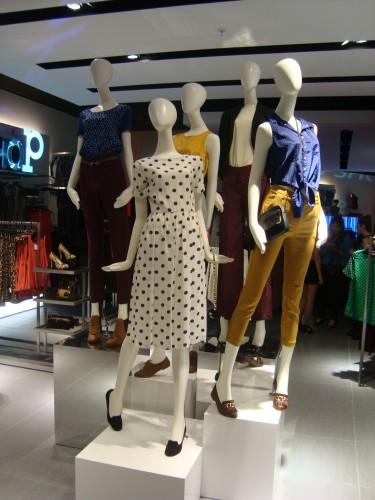 Lanzamiento de la primera tienda TopShop en Chile