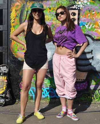 Camila Huerta y Paulina Tapia