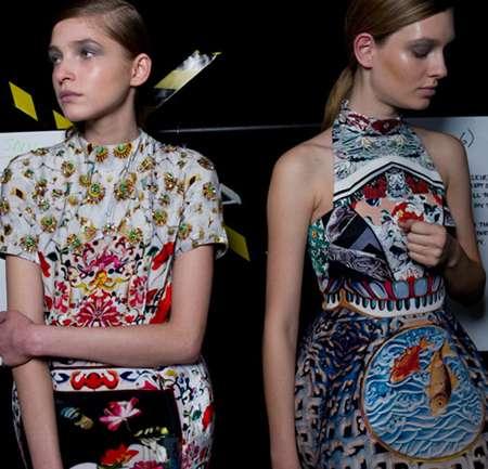 Demi-Couture: Mary Katrantzou para Topshop