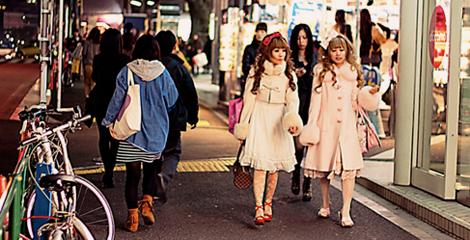 Street fashion Japonés: Las Lolitas