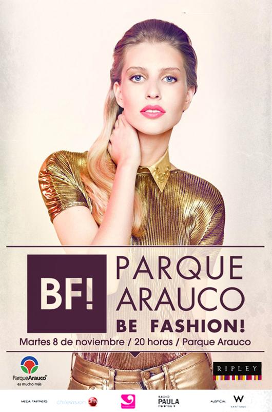 Ganadores de Invitaciones para Be Fashion de Parque Arauco