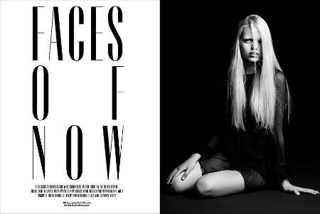 V#74 The Model Issue: Las nuevas chicas