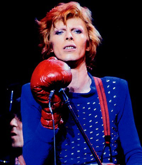 Iconos y editoriales: David Bowie