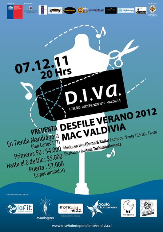 Diseño Independiente Valdivia Celebra Aniversario con Desfile de Modas