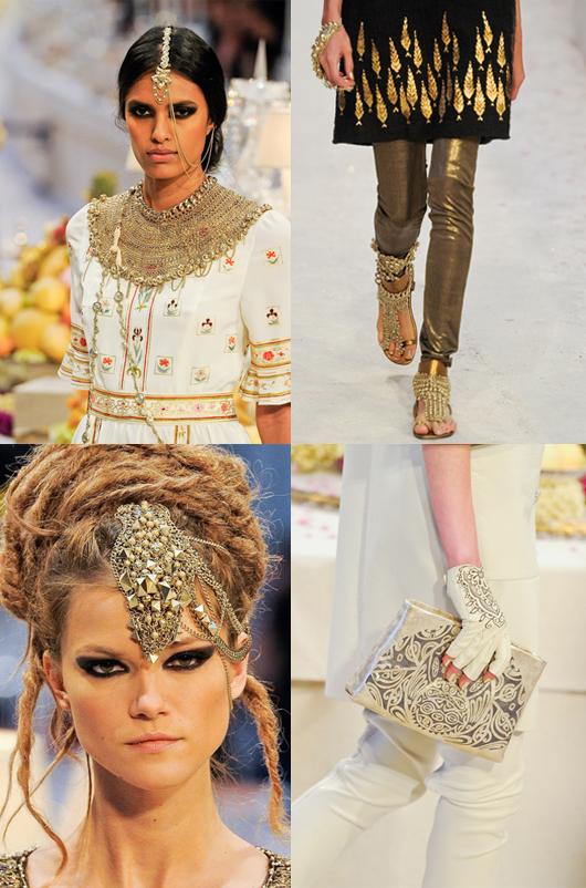"Chanel Pre-Fall 2012: ""Paris-Bombay"""