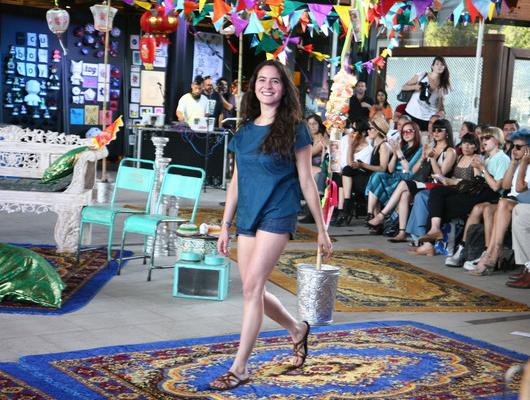 Pasarela VisteLaCalle en Puma Lab: Lupe Gajardo