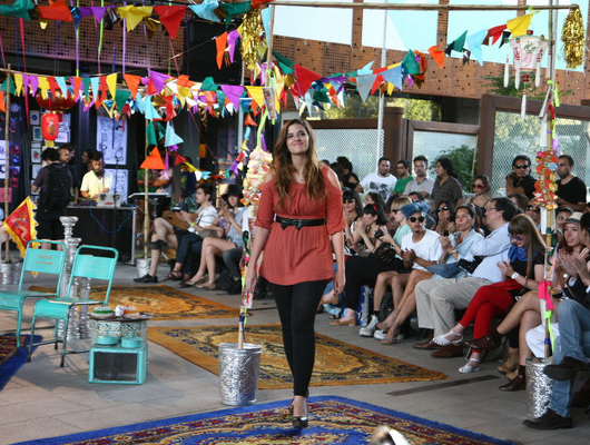 Desfile VisteLaCalle en Puma Lab: Andrea Bahamonde