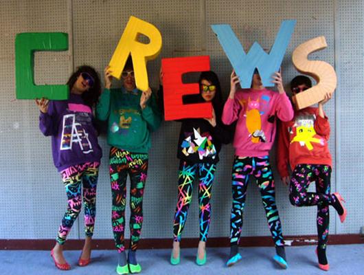 Andrea Crews: un apocalipsis de color