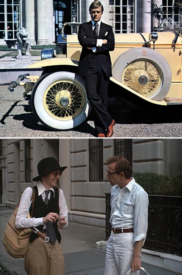Moda & Cine: Ralph Lauren, The Great Gatsby (1974) y Annie Hall (1977)