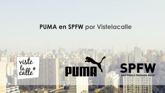 Puma en SPFW por VisteLaCalle día 1
