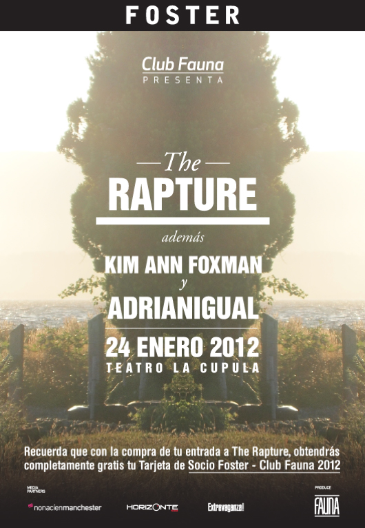 Concurso Foster: The Rapture en Chile