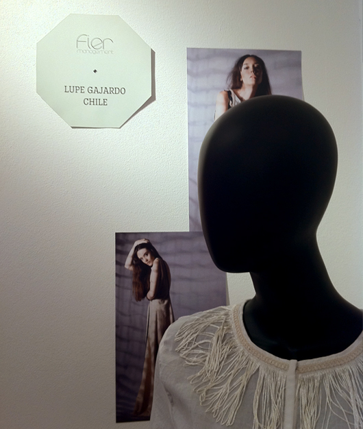 Lupe Gajardo en Showroom de Berlin Fashion Week
