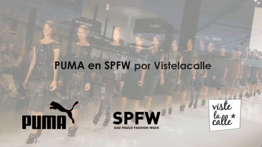 Puma en SPFW por VisteLaCalle día 2