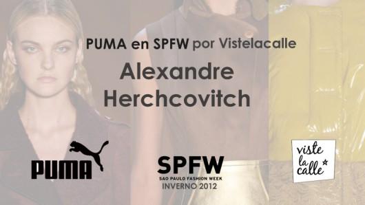 Puma en SPFW por VisteLaCalle: Alexandre Herchovitch