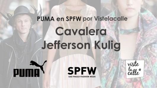 Puma en SPFW por VisteLaCalle: Cavalera y Jefferson Kulig