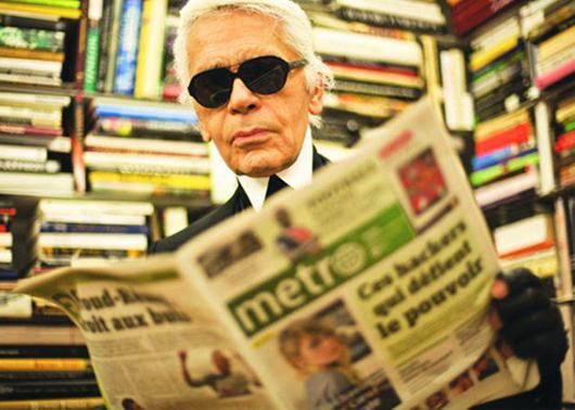 Karl Lagerfeld: Democratizando la Moda