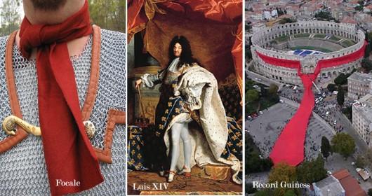 Historia de la Corbata: Trozos de historia en un trozo de genero