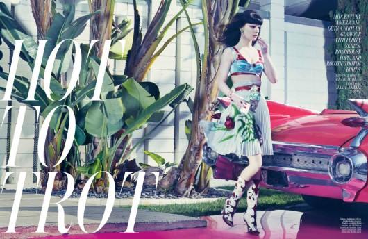 W Magazine: Hot to Trot