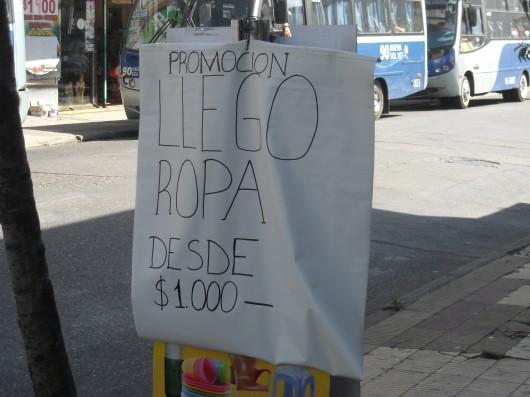 La ruta de la ropa usada en Concepción