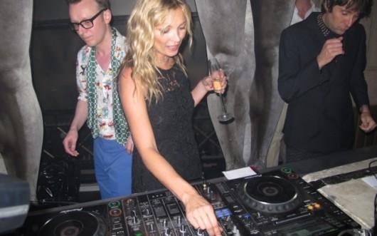 Kate Moss y su nueva faceta como Dj