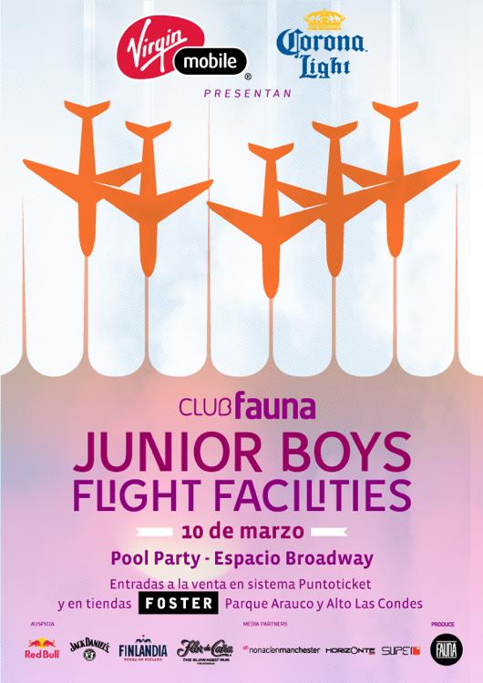 Ganador concurso Foster: Junior Boys y Flight Facilities