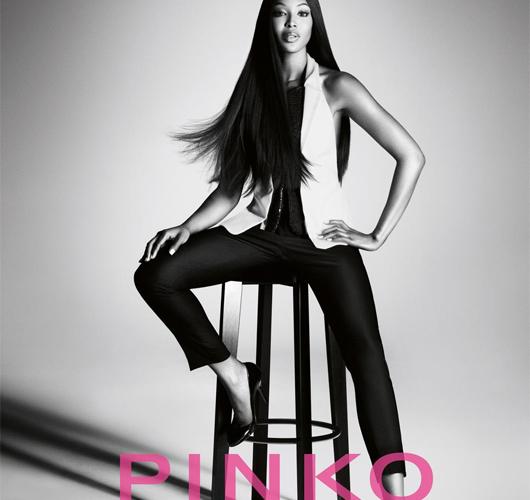 Naomi Campbell para Pinko