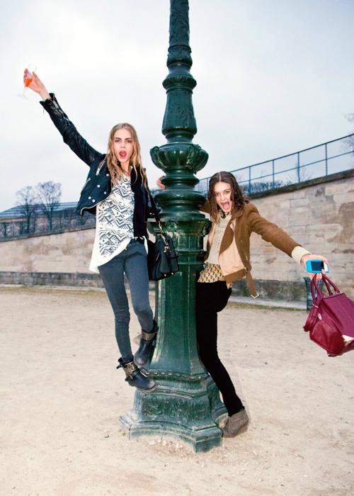 El estilo urbano de las modelos durante los fashion weeks FW 12.13 (Parte I)