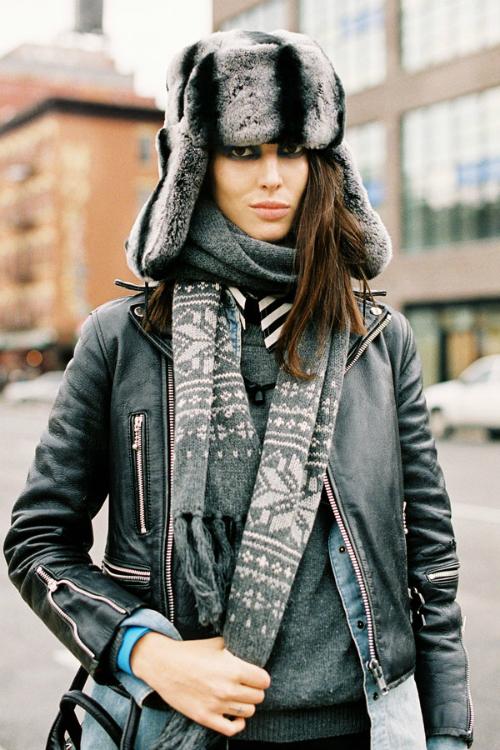 El estilo urbano de las modelos durante los fashion weeks FW 12.13 (Parte III)