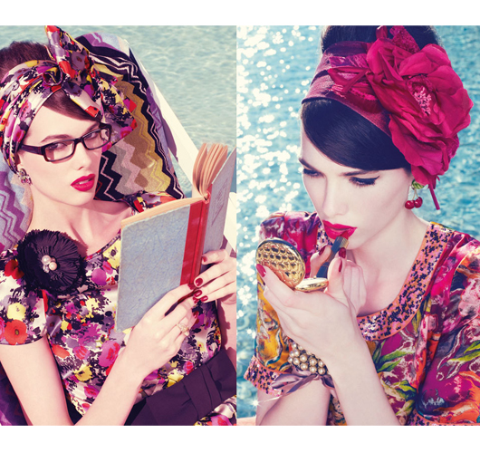 La chic vintage queen: Alannah Hill