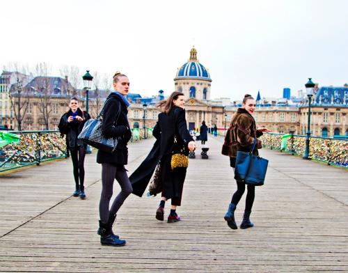 El estilo urbano de las modelos durante los fashion weeks FW 12.13 (Parte II)