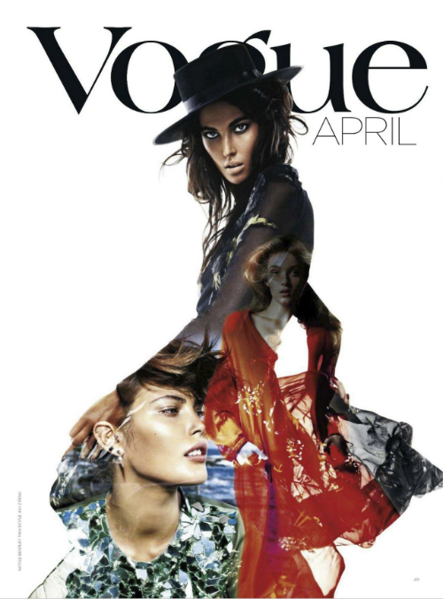 Strike a pose: Vogue en abril