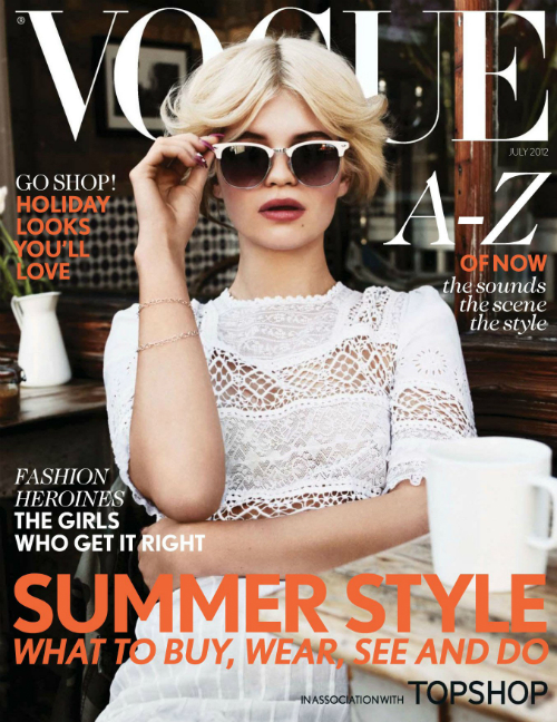 Strike a pose: Vogue en julio