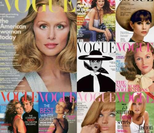 Las modelos del 120 aniversario de Vogue US