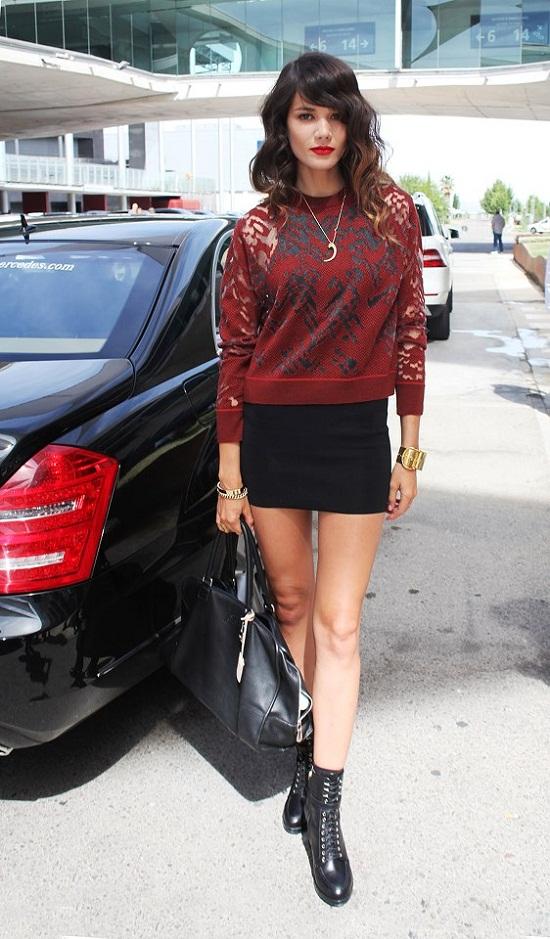 MBFW primavera/verano 2013: Street Style de las modelos