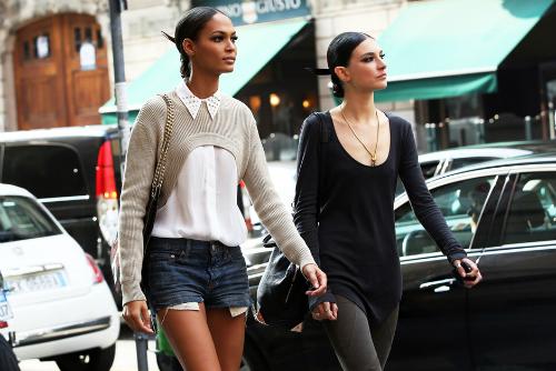 El look de las modelos en los desfiles SS 2013 (Parte II)